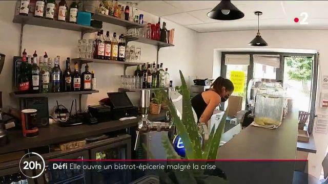 Loire : en pleine pandémie, elle ouvre une épicerie pour faire revivre son village