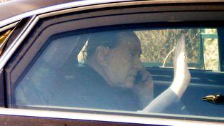 Silvio Berlusconi, l'ancien chef du gouvernement italien, le 6 mars 2015 à Milan (Italie). (LUCA BRUNO / AP / SIPA )