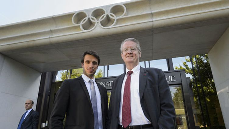 Tony Estanguet et Bernard Lapasset, les visages de la candidature de Paris 2024