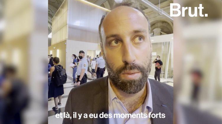 VIDEO. Procès du 13-Novembre : une journée dans les yeux d'une victime (BRUT)