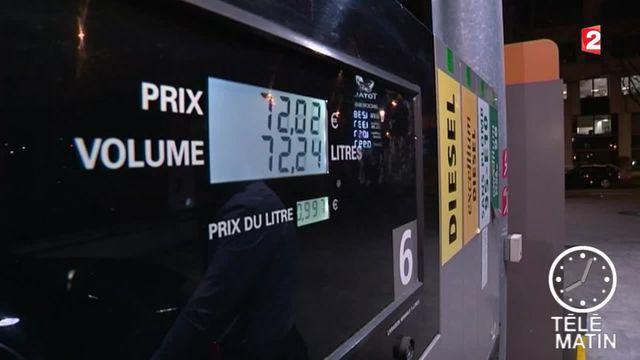 Le prix des carburants chute encore