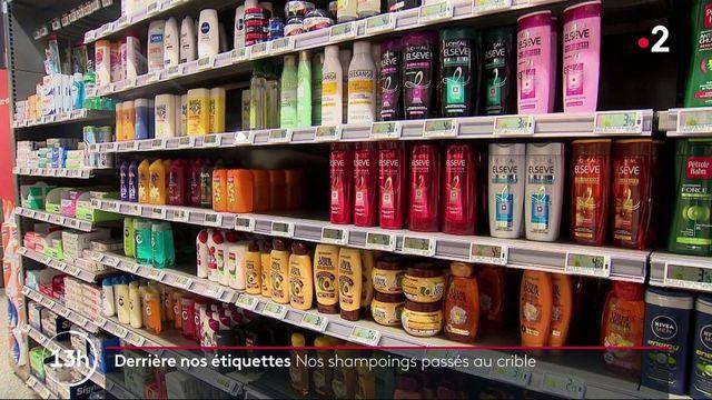 Cosmétiques : que trouve-t-on dans nos shampoings ?