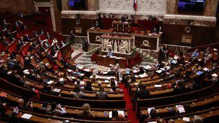 L'Assemblée nationale, le 22 juin 2021 à Paris. (QUENTIN DE GROEVE / HANS LUCAS / AFP)