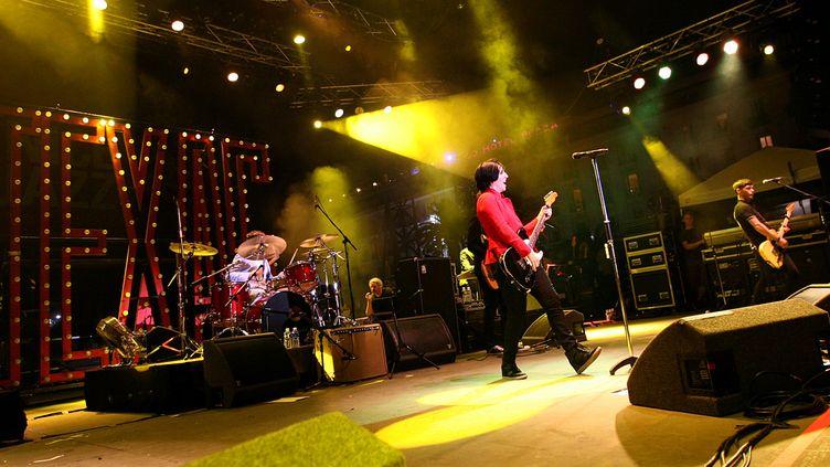 Le groupe Texas sur la scène du Nice Jazz Festival (2012)  (CITIZENSIDE.COM / CITIZENSIDE)