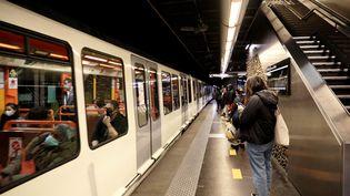 Le métro Vieux-Port à Marseille. (VALERIE VREL / MAXPPP)