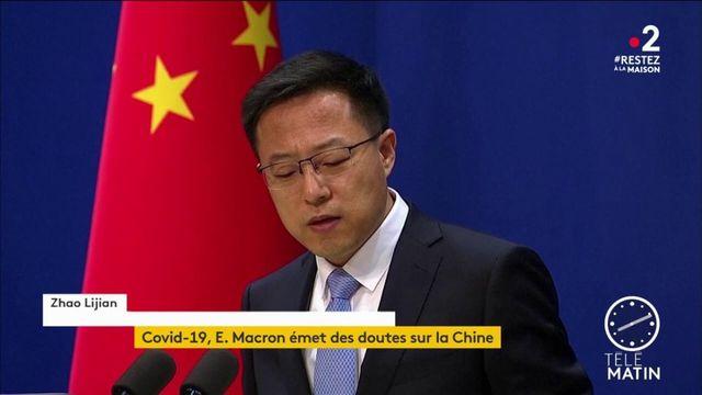 Coronavirus : Emmanuel Macron émet des réserves sur la gestion de crise de la Chine