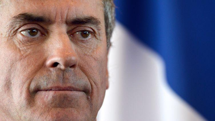 20 mars 2013,Jerome Cahuzac à la cérémonie de passation de pouvoir au ministère du budget à PARIS (MIGUEL MEDINA / AFP)