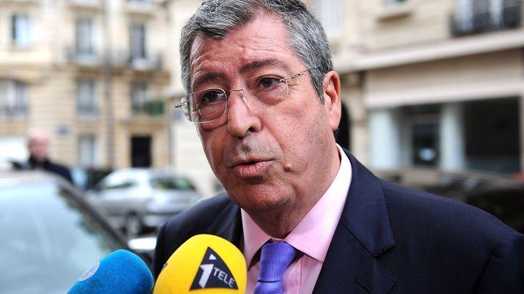 Le député-maire UMP de Levallois-Perret, Patrick Balkany, le 10 avril 2013 à Paris. (ANTOINE ANTONIOL / SIPA)