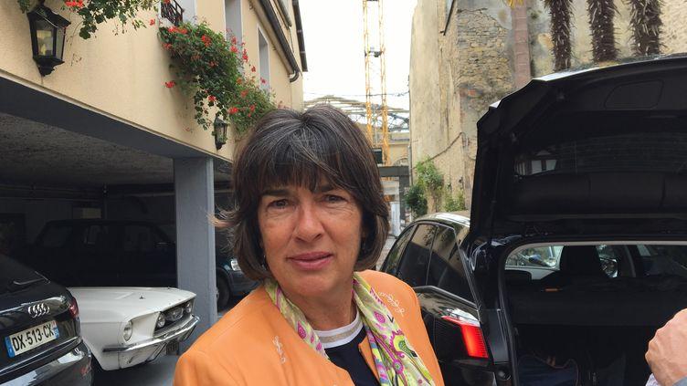 Le jury du 25e Prix Bayeux-Calvados des correspondantsde guerre est présidé cette année par la journaliste vedette de CNN Christiane Amanpour. (RADIO FRANCE / NATHALIE BOURRUS)