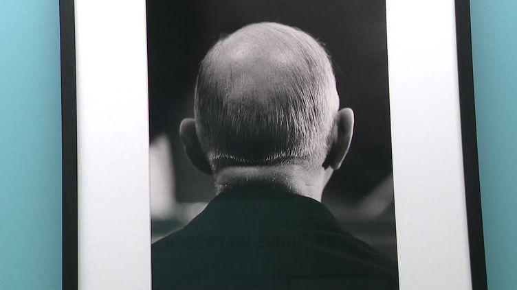 """""""Charles de Gaulle sous l'œil des photographes"""" jusqu'au 4 juillet 2021 à l'Institut pour la photographie de Lille. (CAPTURE D'ÉCRAN FRANCE 3 / J. Vasco)"""