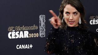 Adèle Haenel, le 28 février 2020, lors dela 45e cérémonie des César. (CHRISTOPHE ENA / AP / SIPA)