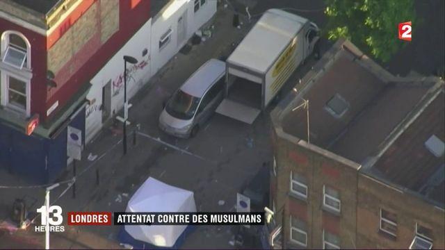 Londres : un attentat contre des musulmans fait un mort et dix blessés