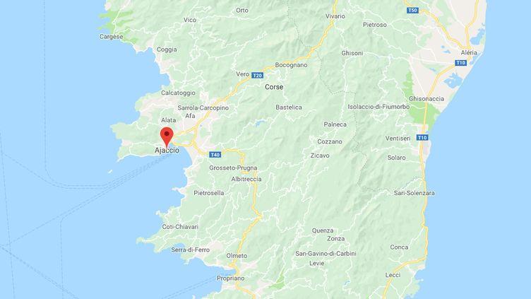 90plaintes ont été déposées au commissariat ou à la gendarmerie d'Ajaccio. (GOOGLES MAPS)