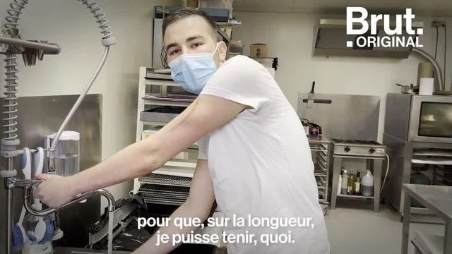 VIDEO. Ce boulanger réaménage son commerce pour son employé handicapé