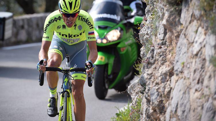 Alberto Contador. (DAVID STOCKMAN / BELGA MAG)