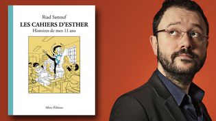 Riad Sattouf signe le tome 2 des Cahiers d'Esther - Histoire de mes 11 ans. (OLIVIER MARTY / ALLARY EDITIONS)