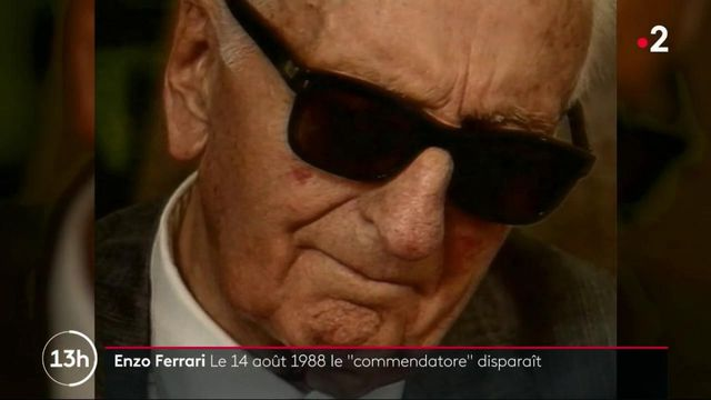 """Enzo Ferrari : le """"commandatore"""" disparaissait le 14 août 1988"""