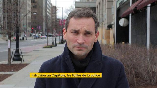 Etats-Unis : intrusion au Capitole, les failles de la police