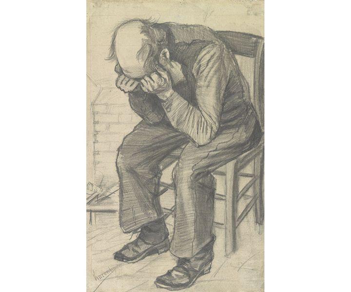 "Vincent van Gogh, ""Paysan usé"", c. 24 novembre 1882, Van Gogh Museum, Amsterdam (Vincent van Gogh Foundation)"
