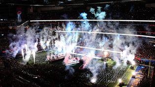 Le dernier spectacle de la mi-temps du Super Bowl le 3 février 2019 à Atlanta, aux Etats-Unis. (SCOTT CUNNINGHAM / GETTY IMAGES NORTH AMERICA)