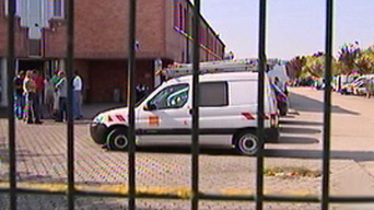 Un centre de France Telecom à Troyes (Aube), où un salarié a tenté de se suicider (09 septembre 2009) (© F2)
