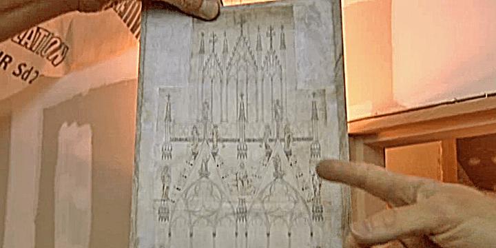 Dessin de la cathédrale de Strasbourg  (Culturebox/France3)