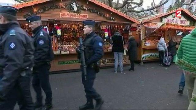 Strasbourg : le marché de Noël placé sous haute surveillance