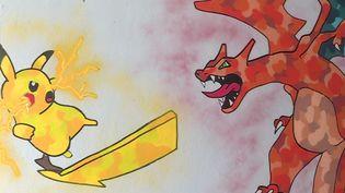 L'une des oeuvres d'Erwan Boda qui orne le musée de street-art de Chevigny-Saint-Sauveur (Côte-d'Or) (Erwan Boda)