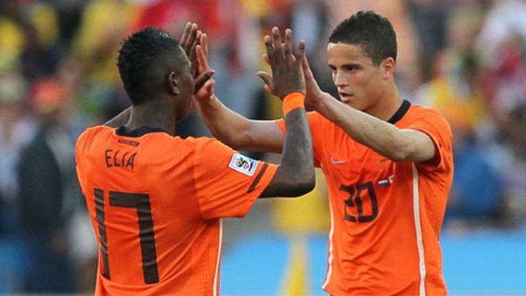 La joie des Néerlandais après leur victoire sur le Japon