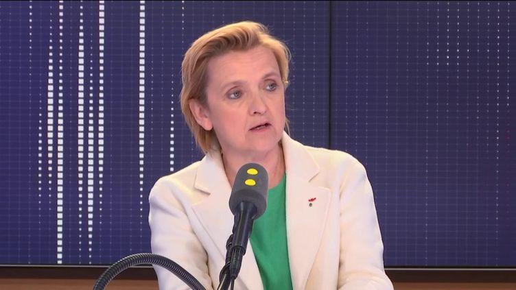 Florence Berthout, la maire du Ve arrondissement de Paris. (FRANCEINFO / RADIOFRANCE)