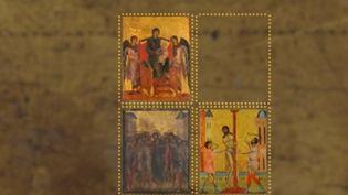 Une peinture du peintre italien Cimabue est au centre d'une bataille après que l'État l'a décrété trésor national, bloquant sa sortie du territoire, alors qu'un couple de Chiliens l'avait acheté aux enchères. (FRANCE 3)