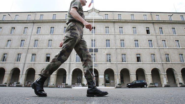 La caserne Bernadotte, place de Verdun, à Pau. (BONNAUD GUILLAUME  / MAXPPP)