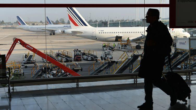L'aéroport Roissy Charles-de-Gaulle (Val-d'Oise), le 15 septembre 2014, lors du premier jour de la grève des pilotes d'Air France. (MUSTAFA YALCIN / ANADOLU AGENCY / AFP)