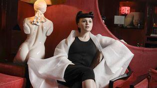 La performeuse, danseuse et chanteuse Viktoria Modesta (PHILIPPE DE POULPIQUET / MAXPPP)