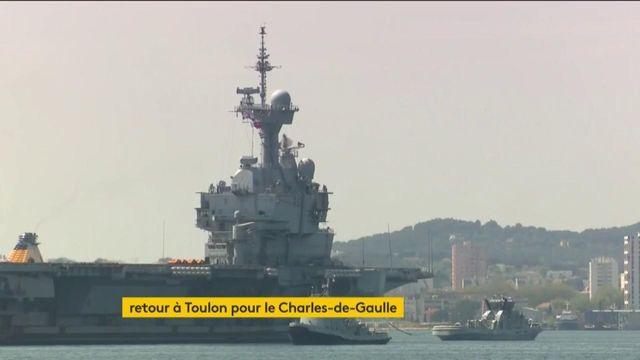 Coronavirus : le porte-avions Charles-de-Gaulle forcé de rentrer à Toulon