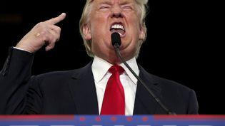 Le candidat à la primaire républicaine Donald Trump, le 24 novembre 2015 àMyrtle Beach, en Caroline du Sud (Etats-Unis). (RANDALL HILL / REUTERS)
