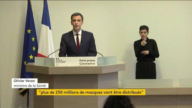 "Masques : Véran promet de nouvelles ""initiatives"" de production"