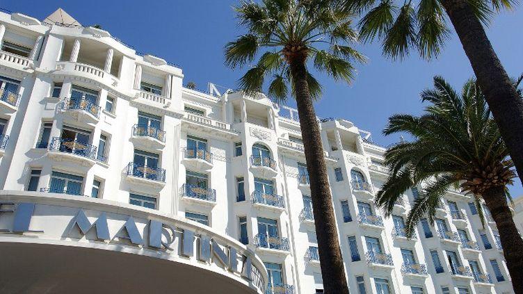 Le rachat de l'hôtel Martinez à Cannes (Alpes-Maritimes) par un investisseur du Qatar a été annoncé le 22 juin 2012. (ANTOINE LORGNIER / AFP)