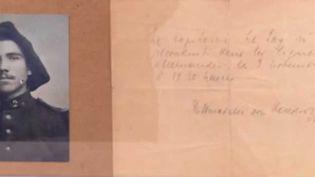 Le soldatGeorges Labroche reste dans l'Histoire comme le clairon de la fin de la Grande Guerre. (FRANCE 3)