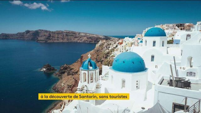 Grèce : Santorin, un lieu merveilleux privé de ses visiteurs