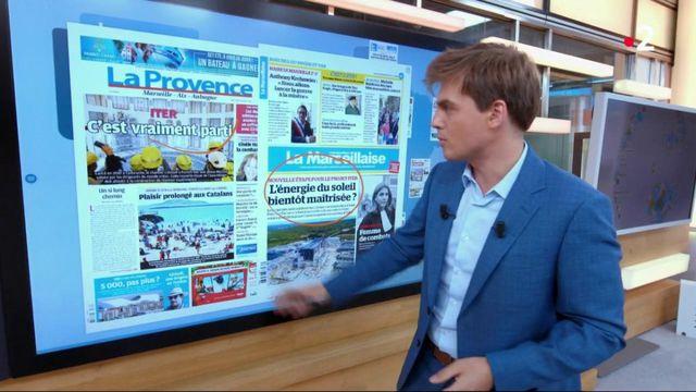 Kiosque à journaux : canicule, virus et réacteur Iter