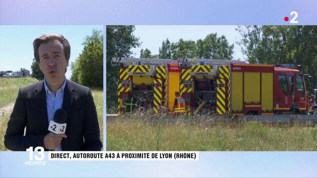 Rhône : un fourgon blindé attaqué sur l'A43 près de Lyon