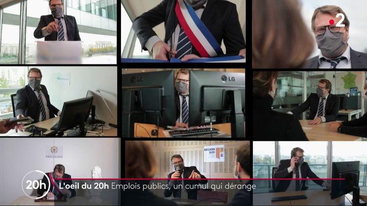 Emplois public : un cumul qui dérange (FRANCE 2)