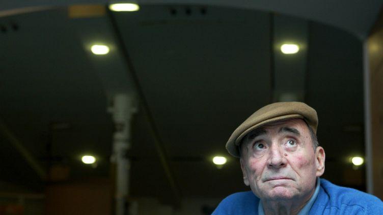 Le comédien Claude Brasseur. (PHILIPPE DE POULPIQUET / MAXPPP)