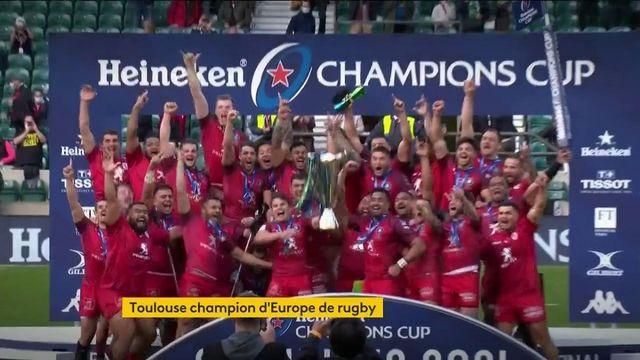 Rugby : Toulouse l'emporte sur La Rochelle à Twickenham