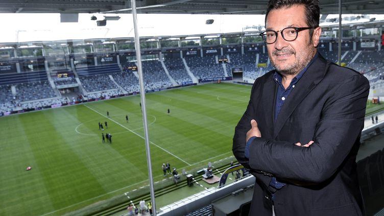 Le directeur général de la Ligue de football professionnel (LFP), Didier Quillot, ci-contre en 2018. (MICHEL VIALA / MAXPPP)