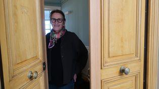 L'écrivaine Marie Desplechin le 26 novembre 2020 à Paris (Laurence Houot / franceinfo Culture)