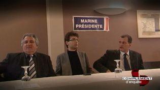 Gaël Nofri, assistant parlementaire FN à son insu ? (FRANCE 2 / FRANCETV INFO)