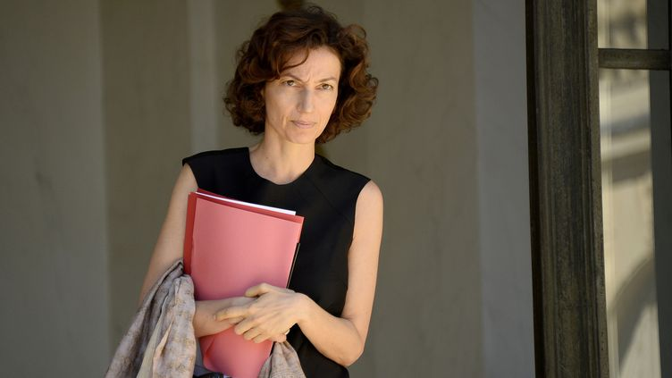 Audrey Azoulay, ministre de la Culture à l'Elysée le 19 juillet  (BERTRAND GUAY / AFP)