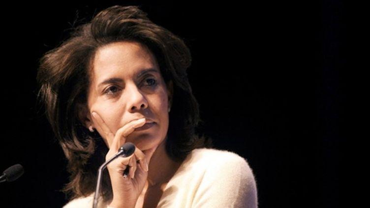 La journaliste Audrey Pulvar animera la tranche matinale d'Inter avec son confrère Patrick Cohen (AFP - Franck FIFE)